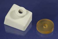 custom silicone molded grommet