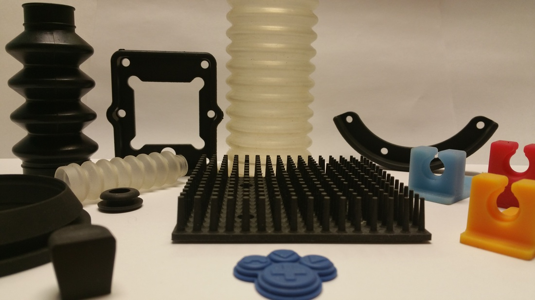 Custom Molded Rubber and Silicone Parts